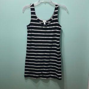 Striped Bodycon Mini Dress